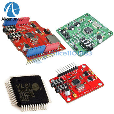 IC VS1053B VS1053 MP3 Music Shield Board Module TF/ SD Card Slot Arduino UNO R3