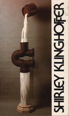 1988 GALLERY CATALOGUE Vorpal, New York City SCULPTURES BY SHIRLEY KINGHOFFER
