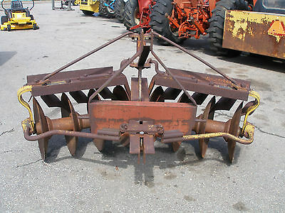 3 Point Hitch  Disc Bog  Plow