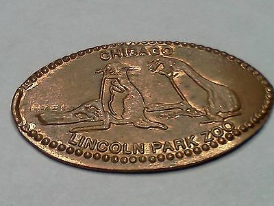 "LINCOLN PARK ZOO-Elongated / Pressed Penny-""copper"" N-799"