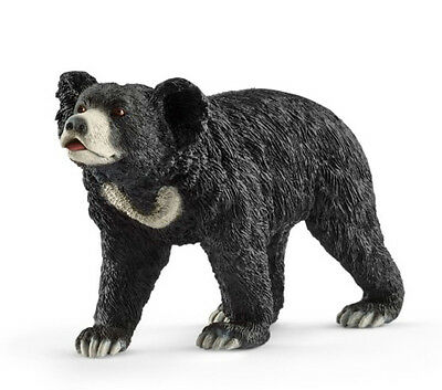 Schleich 14779 Sloth Bear Male Toy Wild Animal Figurine - NIP