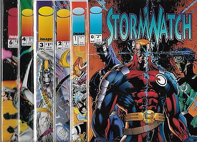 Stormwatch Lot Of 11 - #0 #1 #2 #3 #4 #6 #7 #8 #9 #10 Reg & Variant Cover (Nm-)