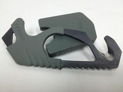 Military Issue Gerber Strap Cutter Foliage Green Rescue Hook Safety Hook Exc