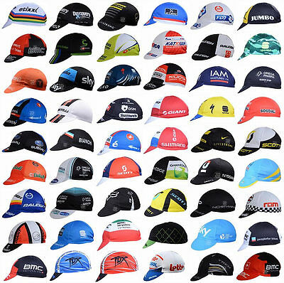 60 Style 2017 Bike Cycling Cap Sport Hat Bicycle Visor Hat Riding Road Headbands
