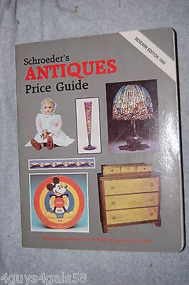 Schroeder's Antiques Price Guide (1988, Paperback) 7th Edition