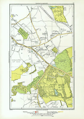 old map Northants 1900 Daventry 43NW repro