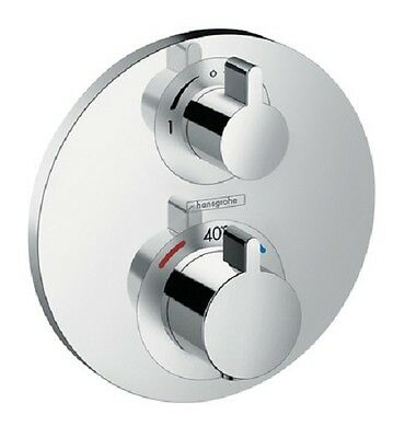 Hansgrohe Ecostat S Thermostatic Shower Mixer 2 Way Diverter 15758000 Trim Only