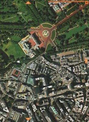 WESTMINSTER SW1. Green/St James's park Buckingham Palace Victoria Stn 2000 map
