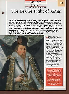 james i divine right of kings