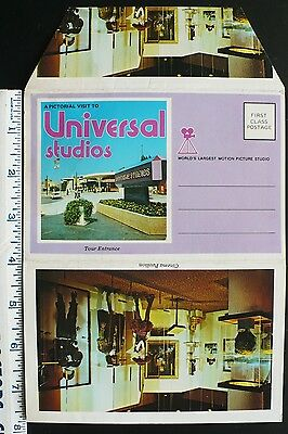 1973 Universal Studios Hollywood CA Movie Stages & Sets, Stunt & Special Effects