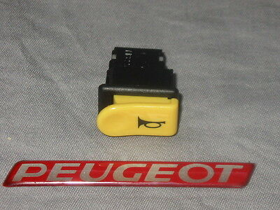 New Genuine Peugeot Buxy Speedake Squab Horn switch button PE729996