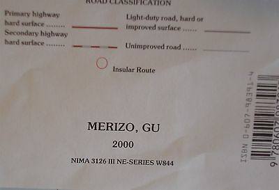 US Geological Survey topographic map MERIZO, GUAM - Mariana Islands  2000