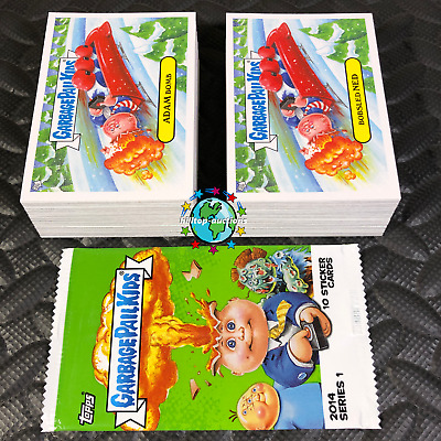 Garbage Pail Kids 2014 1St Series 1 Complete 132-Card Gpk Set +Wrapper