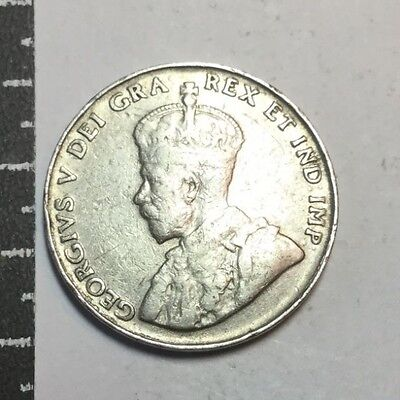 CANADA 1935 5 Cent  coin circulated