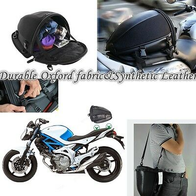 For Motocross Sport Motorbike Tail Bag Back Seat Storage Carry Bag Hand BAG New