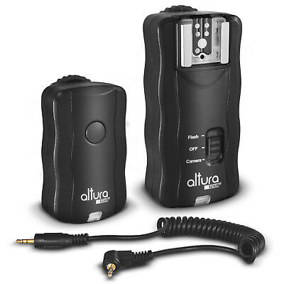 Altura Photo® Wireless Flash Trigger & Remote Shutter for Canon Rebel DSLR