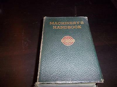 Machinery's Handbook 14th Edition With Thumb Index 1951