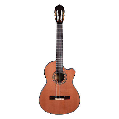 Artist HG39303CEQ Classical Guitar Solid Cedar Top + Cutaway and EQ - New