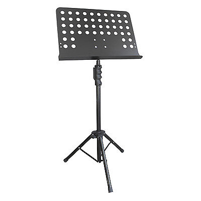 Artist MUS032 Orchestral Music Stand with Solid Bookplate 5 Pack - New