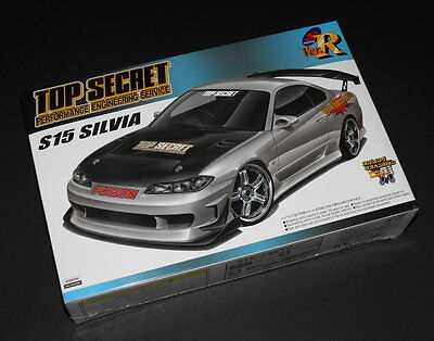 Aoshima Model kit 1/24 Nissan Top Secret S15 Silvia #45053