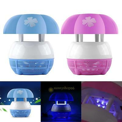 USB LED Electric Mosquito Fly Insect Repeller Killer Catcher Trap Lamp Light