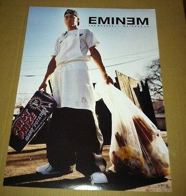 EMINEM 2000 RARE Retail PROMO POSTER For Marshall Mathers CD USA MINT 18x24