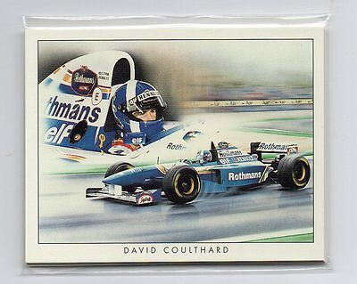 Formula 1 Racing Cars 10 Card set