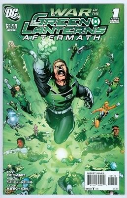 War of Lanterns Aftermath  #1   1 in 10 Variant  NM NEW