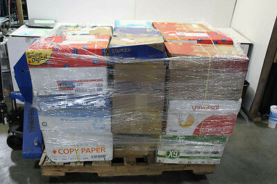 Copy Paper Pallet Lot of 24 Assorted Boxes 8.5 x 11
