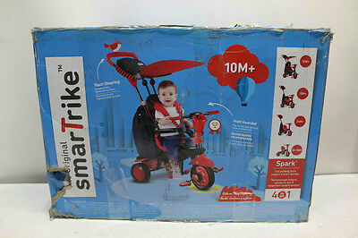 Smart‑Trike 6751500 ‑ Spark Touch Steering 4‑in‑1 Trike ‑ Red