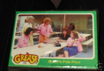 Set of Grease 1 series 2 Trading cards  1970s