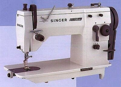 NEW Singer 20U83 Industrial ZigZag Sewing Machine complete with brush less motor