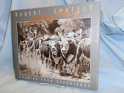Signed & Dated 1995~Shoofly/robert Shufelt~Drawing From Experience~H/c & D/j