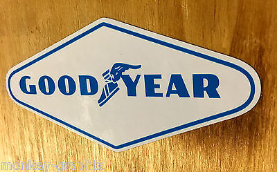 Goodyear Oldschool Sticker USA Aufkleber Muscle Car Skull Youngtimer RACING V6