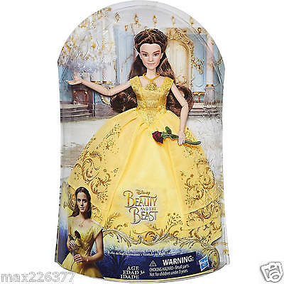 Disney Beauty and the Beast Enchanting Ball Gown Belle from live action movie