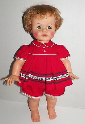 """Vintage 22"""" Ideal Kissy Doll Rare Outfit K-22"""