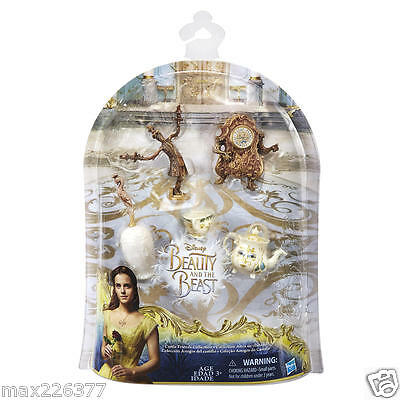 New Disney Princess Beauty & the Beast Live Action Castle Friends Collection