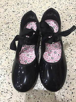 Capezio Tap Shoes Girls Size 13.5