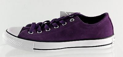 New With Box Unisex CONVERSE All Star Purple Casual Shoes Size 8