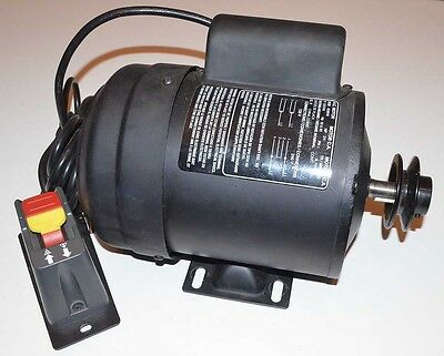 NEW AC 3/4HP Electric Motor with Base Mount - 1725 RPM - 120/240V - #828848