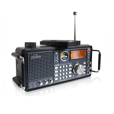 TECSUN S2000 Radio World Receiver Portable FM SW Stereo Air band SSB PLL Dual