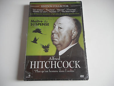 Dvd Neuf- Alfred Hitchcock /  Documentaire Inedit - Zone 2