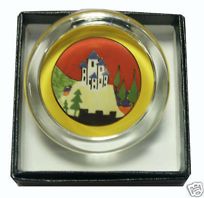 Clarice Cliff Small Paperweight - Lucerne