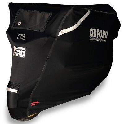 Oxford CV162 PROTEX STRETCH Motorbike Motorcycle Dust  Sun Rain Cover Outdoor L