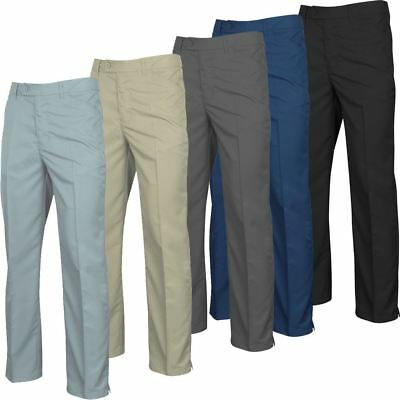 New 2017 Island Green Tapered Leg Pant Zipped Fly Performance Mens Golf Trousers