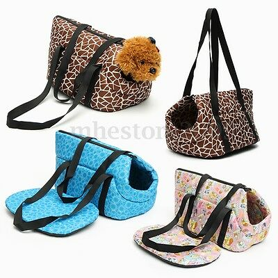 Pet Travel Tote Carrier Bag Handbag For Dog Puppy Cat Kitten Rabbit Cage