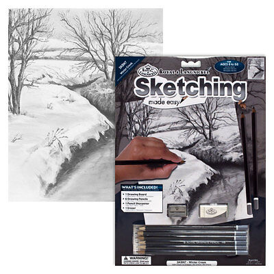 Winter Creek - SKBN7 Royal & Langnickel Sketching Made Easy