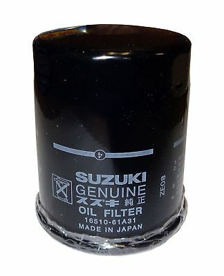 OEM Genuine Suzuki Oil Filter for DF 70A, 80A, 90A, 115A, and 140A 16510-61A31