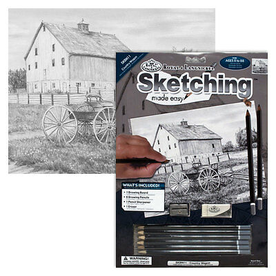 Country Wagon - SKBN11 Royal & Langnickel Sketching Made Easy