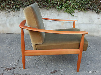 Sessel Easy chair Kirsche (?) Knoll (?) Mid century 60er Jahre